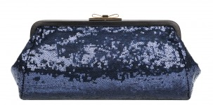FURLA pochette Chantilly in paillettes