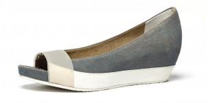 Logan P/E 2012 scarpe dècollleté CANGE AVIO ecru