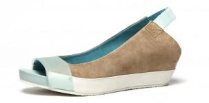 Logan P/E 2012 scarpe dècollleté SQUUEZE - DAINO acqua