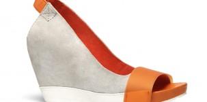 Logan P/E 2012 scarpe dècollleté SQUUEZE - GRIGIO orange