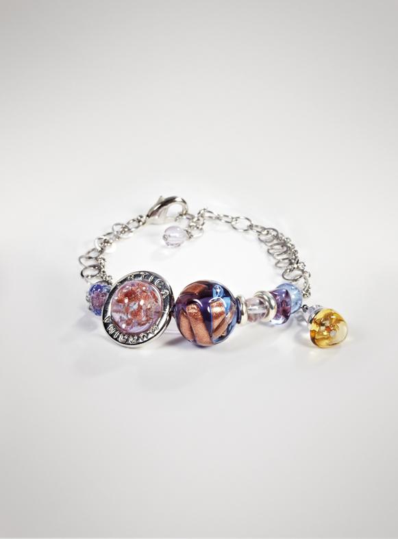 """Antica Murrina: bracciale """"Duna"""" collezione Glass 2012"""