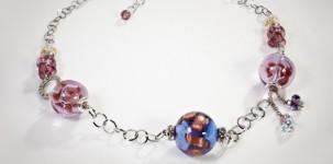 """Antica Murrina: collana girocollo """"Duna"""" collezione Glass 2012"""