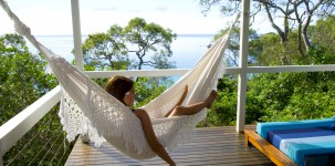 Lizard Island Resort: Sunset Point Villa Hammock