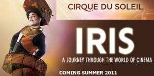 Cirque du soleil: la locandina del nuovo spettacolo IRIS