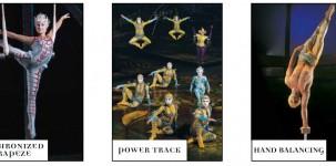 Cirque du soleil: alcuni dei personaggi
