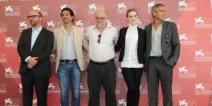 """George Clooney alla Mostra del Cinema di Venezia presenta il film """"Le idi di Marzo"""" (foto ASAC)"""